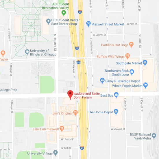 Forum on Google maps